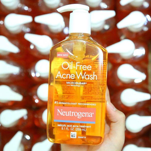 Sữa rửa mặt tốt nhất Neutrogena
