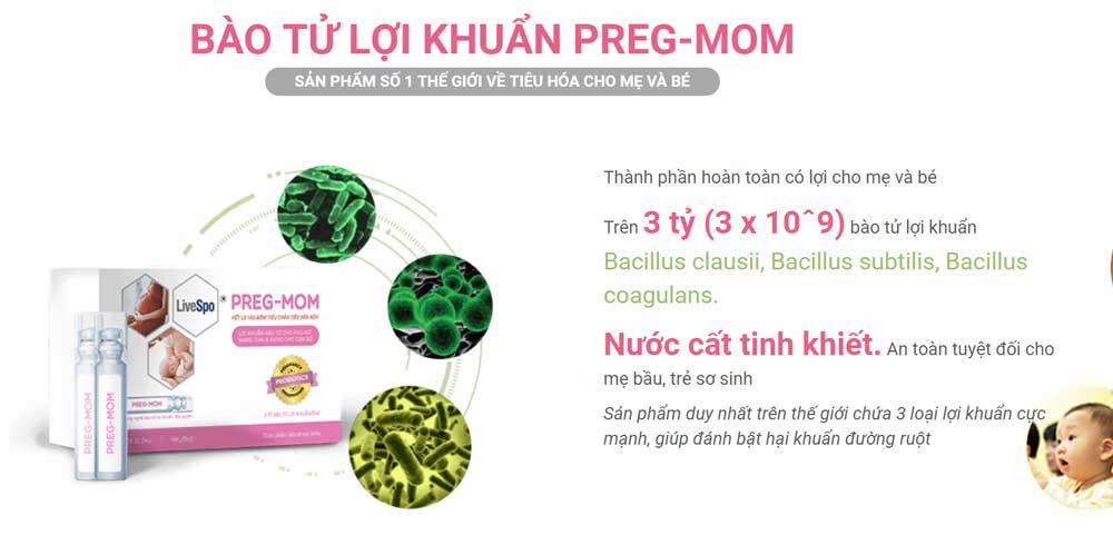 Các mẹ đã dùng Preg-Mom