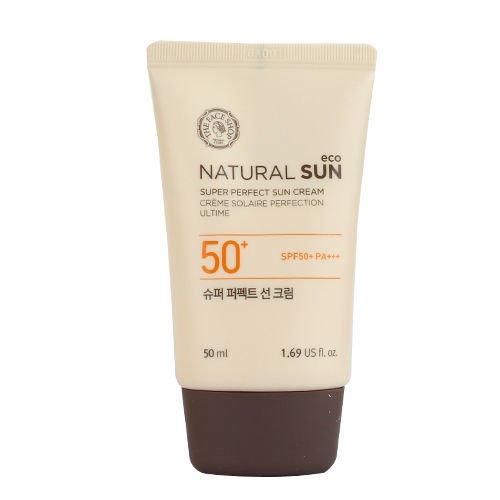 Kem Chống Nắng Tăng Cường NATURAL SUN ECO SUPER PERFECT SUN CREAM SPF50