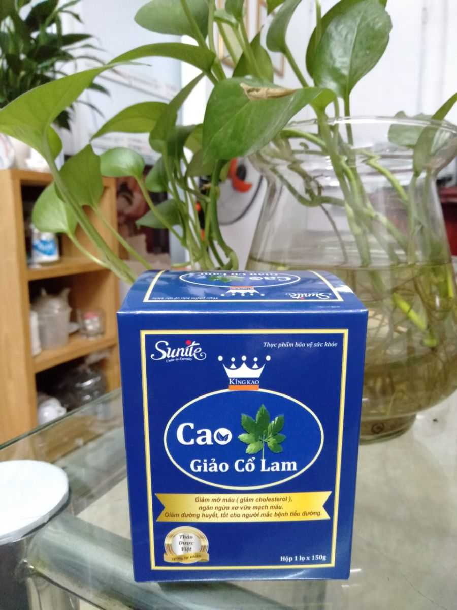trị tiểu đường Cao Giảo Cổ Lam