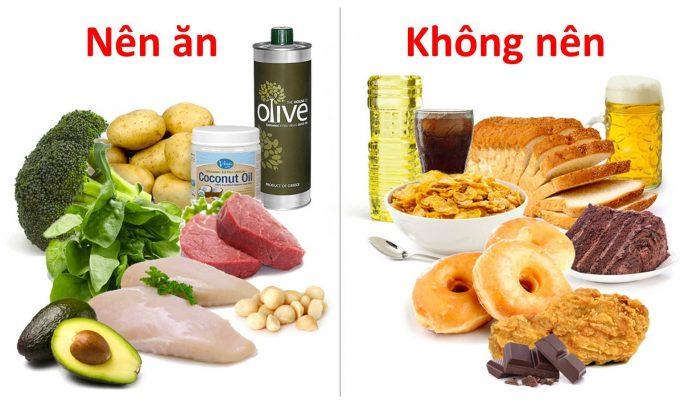 chế độ ăn giảm cân tốt nhất